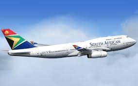 SAA in flight