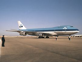 The KLM Boeing 747