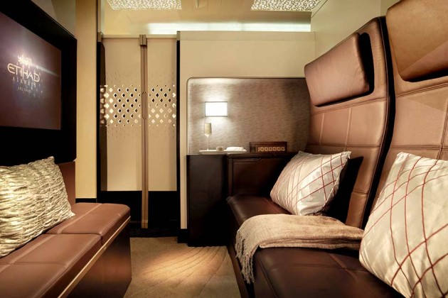 The Etihad First Class Three Room Suite is arguably the most opulent form of passenger air transport