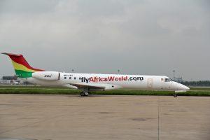 A FlyAfricaWorld.com Embraer aircraft