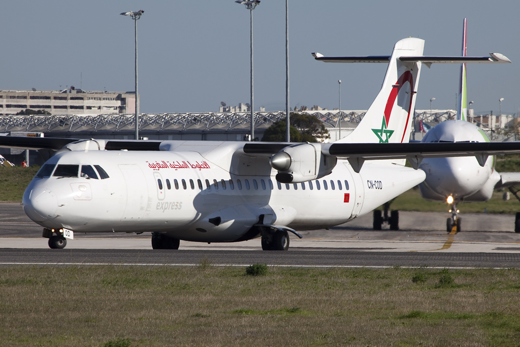 A Royal Air Maroc Express Jet 2017
