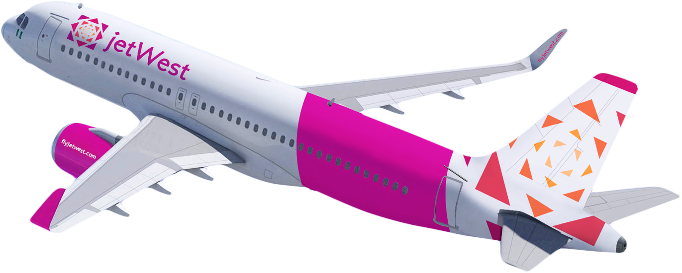 It is anticipated that JetWest will use the Airbus A320 for their low cost fleet