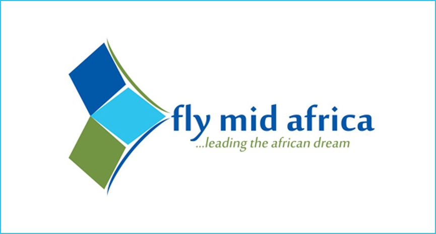 Fly Mid Africa Offical Logo