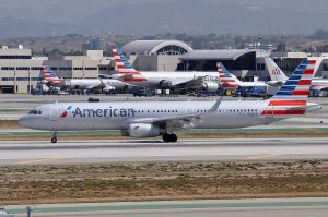 American Airlines Jets at LAX